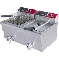 FED Double Benchtop Electric Fryer | EF-S7.52 10 Amp