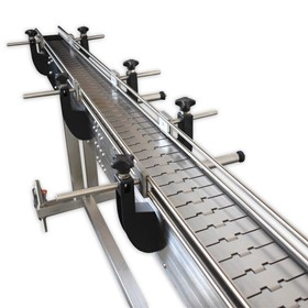 Stainless Steel Slat Conveyor 2400mm | PSC-6-2.4