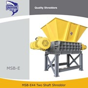 Unshark Industrial MSW Shredder Two Shaft Shredder | MSB-E44