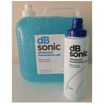 5 Litres Blue Ultrasound Gel Container and Dispenser Bottle