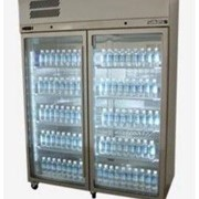 Diamond Star Upright Glass 2 Door Chiller