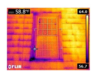 FLIR E6 - Window and Shake Siding