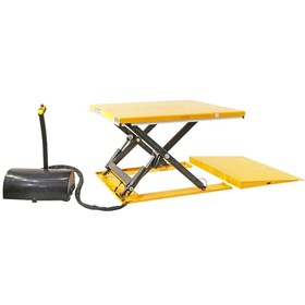Low Profile Electric Pallet Lift Tables
