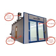 Full Downdraft Spray Booth | Elite Mach I