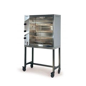 Spit Roast Rotisserie Oven | GINOX 4 Gas