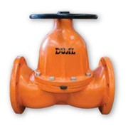 Dual Straight Through Diaphragm Valve (DSTDV)