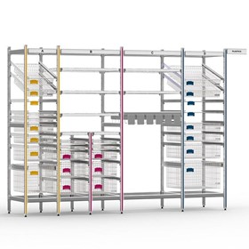 STERIRACK System 600D Wire Shelving Installation