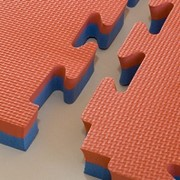 Gym Floor Interlocking Mat Tiles
