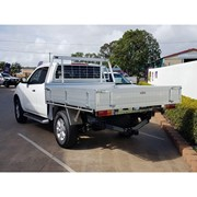 Alloy Ute Trays | RG Holden Colorado Dual Cab