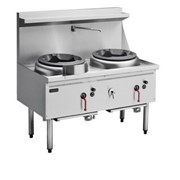 Cobra Gas Waterless Wok - Double Burner CW2H-CC