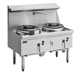 Gas Waterless Wok - Double Burner CW2H-CC