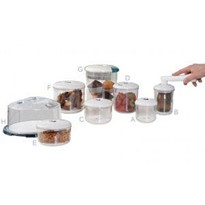 NEW-Line Round Food Containers for Food Storage
