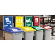 Recycling Station Bins