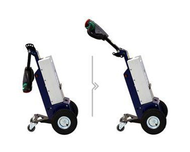 Can be loaded onto trucks and vans for delivery and handling of trolleys