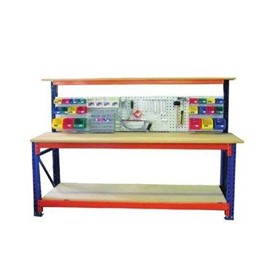 Longspan Workbench with Accessory Panel