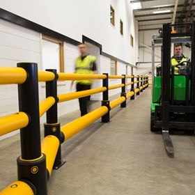 Safety Barrier | A-SAFE | Traffic+ iFlex Barrier