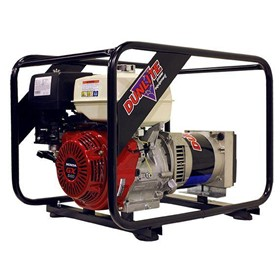 Petrol Portable Generator - 5.8 kVA / 4800 Watt, Honda Powered