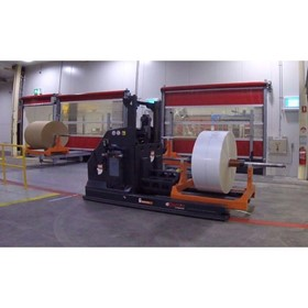 AGV Automated Guided Vehicle | 13391 Reel Handling Automation