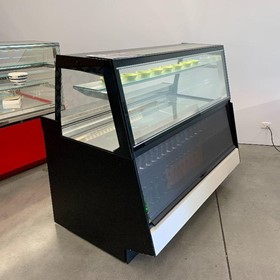 CIAM MYACM165I MYA Narrow Ventilated Pastry Combi Showcase