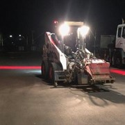 Safety Lights for Forklifts & Nightwork Redzone Safety Halo Light SHRL