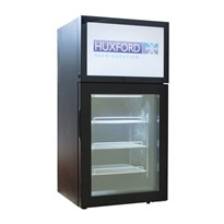 Mini Countertop HD Video Screen Commercial Display Freezer | HFSD50-B