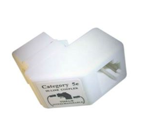 Cat 5E Right Angled Keystone Coupler