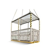 6 Person Crane Cage (with Mesh Roof)