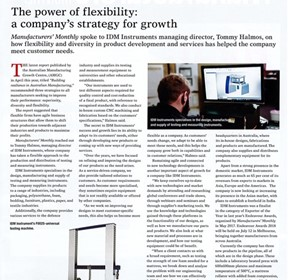 The power of flexibility: a company's strategy for growth