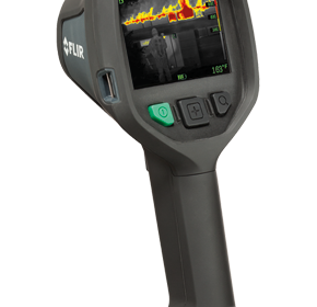 FLIR K-Series allows you to see through smoke from every angle