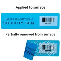 Security Labels for medical equipment, specimen containers and more.