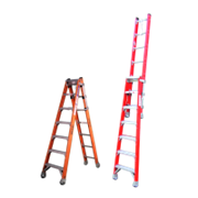Fibreglass Step Extension Ladders | INDALEX Pro Series