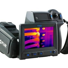 Thermal Camera for Predictive Maintenance | FLIR T660