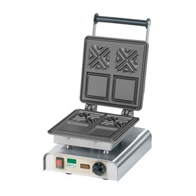 NEE-12-40704DT X Waffle Commercial Waffle Iron