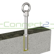 Connect2 Ballast Roof Concrete End Anchor | CA419