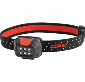 Headlamp - Coast FL30 Utility Fixed Beam - 240 Lumens