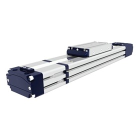 Electric Drive | Single Carriage Rectangular Profile – EDF Series