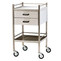 Medical Trolley Two Drawer | Model 1453