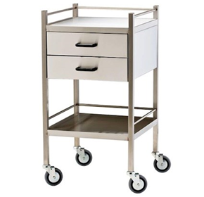 Medical Cart Trolley Two Drawer | Model 1453