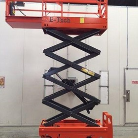 19FT Access Equipment - Scissor Lift Hire only $100+GST per day