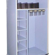 Mobile Medical Storage Cabinet with 2 Compartments | MediCab MC2D