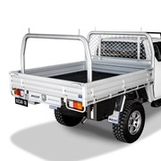Single Cab Alloy UTE Tray | L 2485 x W 1855mm - Deluxe