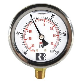 Pressure Gauge | Liquid Filled General Purpose