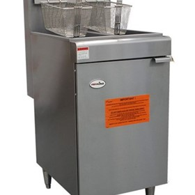 Twin Tank 600mm Tube Fryer