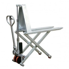 Galvanized High Lift Pallet Truck