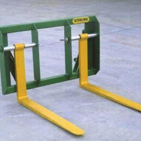Adjustable Pallet Fork Attachement