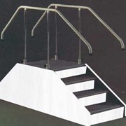 Deluxe Exerciser Stairs with Adjustable Height Handles