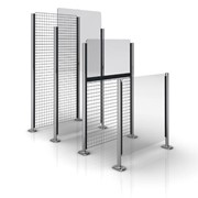 Railix Basic - Wire & Glass Partition