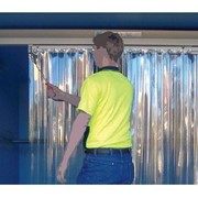 Compass System Truck Mounted Sliding Strip Curtains