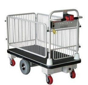 Sitecraft Battery Electric E-Move Cage Trolley
