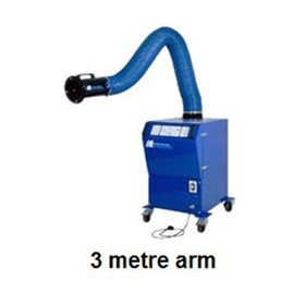 Mobile Filtered Fume Extraction Unit + 3m Arm | MF-Eco